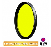 B+W F-Pro 022 40.5mm MRC Yellow light 495 黑白軟片濾色片 黃色