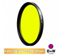 B+W F-Pro 022 67mm MRC Yellow light 495 黑白軟片濾色片 黃色