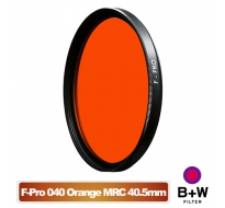 B+W F-Pro 040 40.5mm MRC Orange light 550 黑白軟片濾色片 橘色