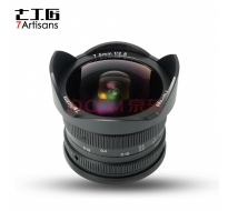 七工匠 7.5mm F2.8 for Sony E mount 黑色 微單鏡頭